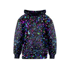 Glitter 1 Kid s Pullover Hoodies by MedusArt