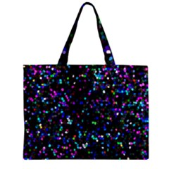 Glitter 1 Zipper Tiny Tote Bags by MedusArt