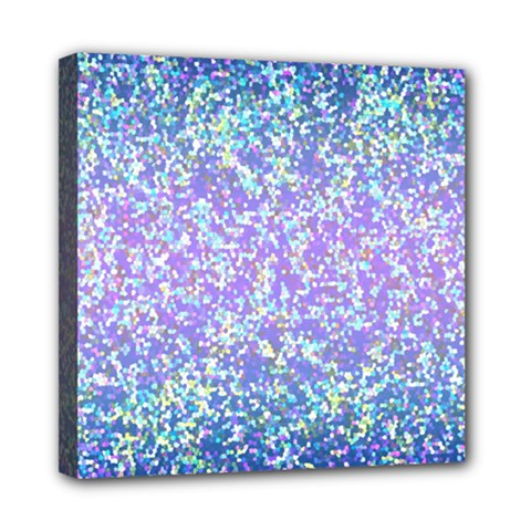 Glitter 2 Mini Canvas 8  X 8  by MedusArt
