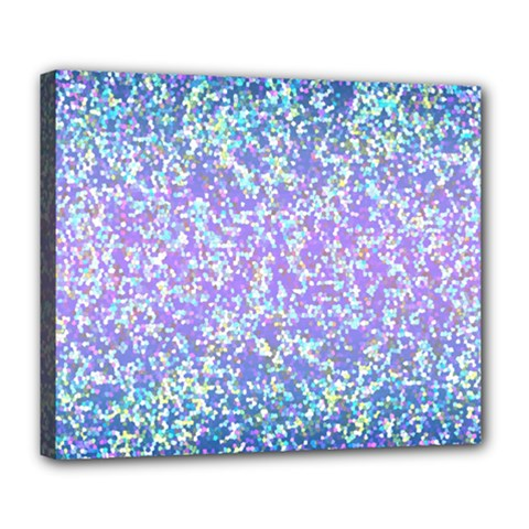 Glitter 2 Deluxe Canvas 24  X 20   by MedusArt
