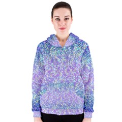 Glitter 2 Women s Zipper Hoodies by MedusArt