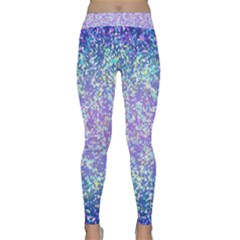 Glitter 2 Yoga Leggings by MedusArt