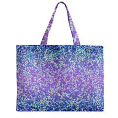 Glitter 2 Zipper Tiny Tote Bags