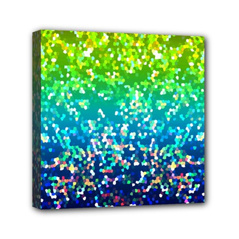 Glitter 4 Mini Canvas 6  X 6  by MedusArt