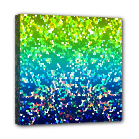 Glitter 4 Mini Canvas 8  X 8  by MedusArt