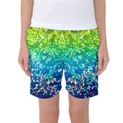 Glitter 4 Women s Basketball Shorts by MedusArt