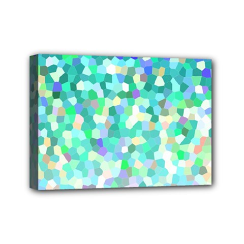 Mosaic Sparkley 1 Mini Canvas 7  X 5  by MedusArt