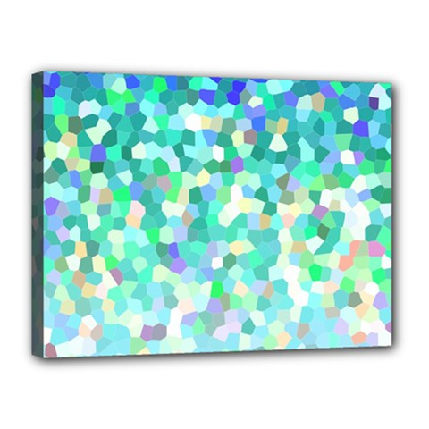Mosaic Sparkley 1 Canvas 16  X 12  by MedusArt