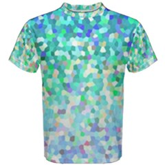 Mosaic Sparkley 1 Men s Cotton Tees by MedusArt
