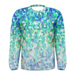 Mosaic Sparkley 1 Men s Long Sleeve T Shirts by MedusArt