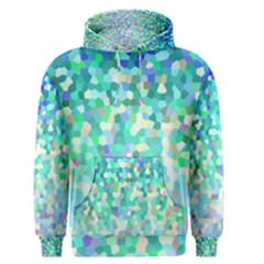 Mosaic Sparkley 1 Men s Pullover Hoodies by MedusArt