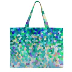 Mosaic Sparkley 1 Zipper Tiny Tote Bags by MedusArt