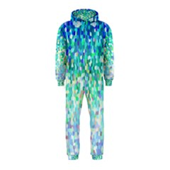 Mosaic Sparkley 1 Hooded Jumpsuit (kids) by MedusArt