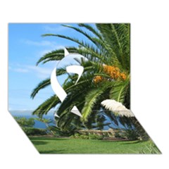 Sunny Tenerife Ribbon 3d Greeting Card (7x5)  by MoreColorsinLife