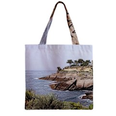 Tenerife,painted Version Grocery Tote Bags