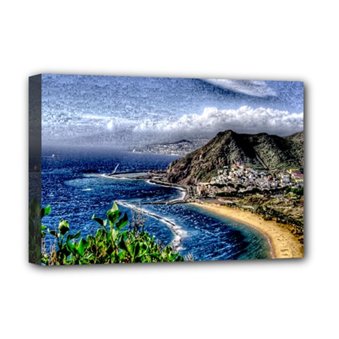 Tenerife 12 Effect Deluxe Canvas 18  X 12   by MoreColorsinLife