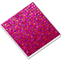 Polka Dot Sparkley Jewels 1 Small Memo Pads by MedusArt