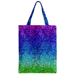 Grunge Art Abstract G57 Zipper Classic Tote Bags by MedusArt