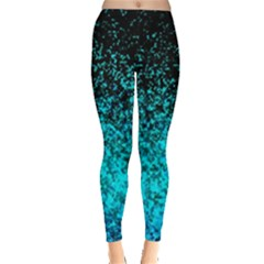 Glitter Dust G162 Women s Leggings by MedusArt