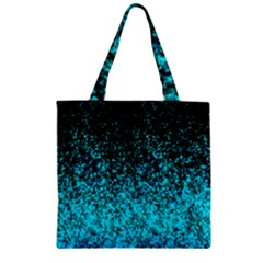 Glitter Dust G162 Zipper Grocery Tote Bags by MedusArt