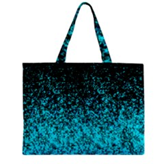 Glitter Dust G162 Zipper Tiny Tote Bags by MedusArt