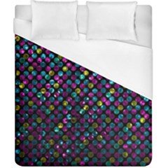 Polka Dot Sparkley Jewels 2 Duvet Cover Single Side (double Size)