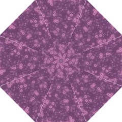 Snow Stars Lilac Straight Umbrellas by ImpressiveMoments
