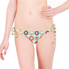 Chic Floral Pattern Bikini Bottoms by creativemom