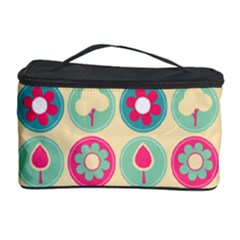 Chic Floral Pattern Cosmetic Storage Cases by creativemom