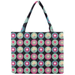 Chic Floral Pattern Tiny Tote Bags by creativemom