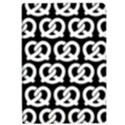 Black And White Pretzel Illustrations Pattern iPad Air 2 Flip View1