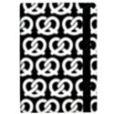 Black And White Pretzel Illustrations Pattern iPad Air 2 Flip View2