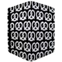 Black And White Pretzel Illustrations Pattern iPad Air 2 Flip View3