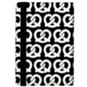 Black And White Pretzel Illustrations Pattern iPad Air 2 Flip View4