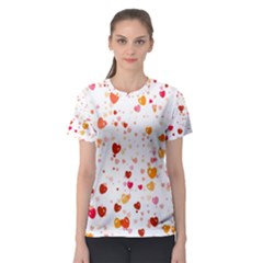Heart 2014 0604 Women s Sport Mesh Tees