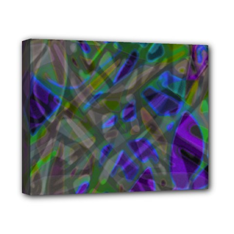 Colorful Abstract Stained Glass G301 Canvas 10  X 8  by MedusArt