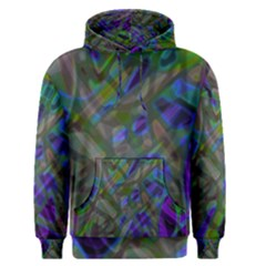 Colorful Abstract Stained Glass G301 Men s Pullover Hoodies by MedusArt