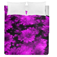 Phenomenal Blossoms Hot  Pink Duvet Cover (full/queen Size)