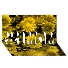 Phenomenal Blossoms Yellow #1 Mom 3d Greeting Cards (8x4)