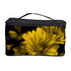 Phenomenal Blossoms Yellow Cosmetic Storage Cases by MoreColorsinLife