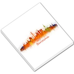 Barcelona City Art Small Memo Pads by hqphoto