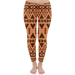 Tribal Print Hippie Pattern  Winter Leggings by CraftyLittleNodes