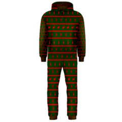 Ugly Christmas Sweater  Hooded Jumpsuit (men)  by CraftyLittleNodes