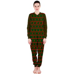 Ugly Christmas Sweater  Onepiece Jumpsuit (ladies)  by CraftyLittleNodes