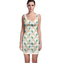 Pineapple Pattern 04 Bodycon Dresses
