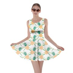 Pineapple Pattern 04 Skater Dresses by Famous