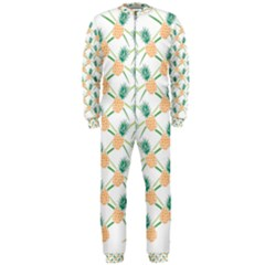 Pineapple Pattern 04 Onepiece Jumpsuit (men)  by Famous