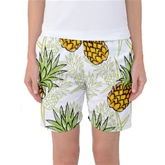 Pineapple Pattern 06 Women s Basketball Shorts by Famous