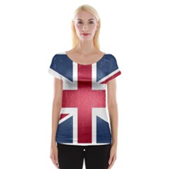 Brit3 Women s Cap Sleeve Top