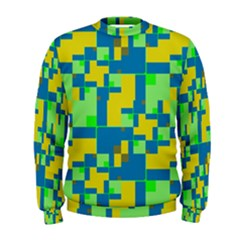 Shapes In Shapes  Men s Sweatshirt